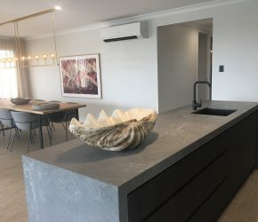 GJ Gardner M&R Kitchens Caesarstone Rugged Concrete 5
